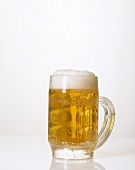 A tankard of alcohol-free beer