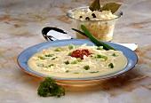 Creamy sauerkraut soup
