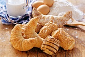 Sweet puff pastries