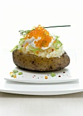 Baked Potato with Caviar