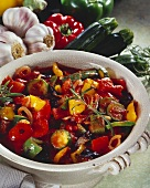 Ratatouille with rosemary