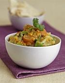 Cauliflower dahl (Indian cauliflower and lentil stew)