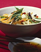 Thai vegetable dish in bowl