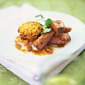 Duck breast with rösti