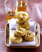Almond biscuits with amaretto