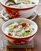 Schoppa da Jotta (Bündner barley soup with bacon, Switzerland)