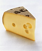 A piece of raclette cheese