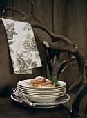 Carinthian pork & vegetable stew with horseradish & dumplings