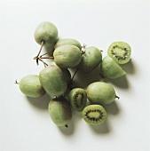 Wild kiwi fruits
