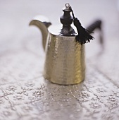 Turkish silver teapot