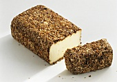 Brescianella acquavite (cheese with barley meal, Lombardy)