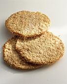 Sesame Schüttelbrot (bread speciality from S. Tyrol)