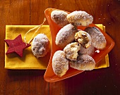 Mini-stollen (stollen sweets) for Christmas
