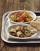Involtini di zucchina e peperone al tonno, Veneto, Italy