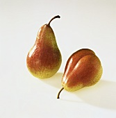 Two pears, variety Klapps Liebling