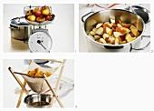 Making apple juice