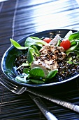 Pork fillets with wild rice