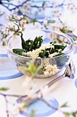 Nettle salad