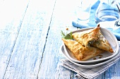 Spanakopita (Spinach pasties, Greece)