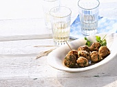 Keftedes (Meatballs, Greece)