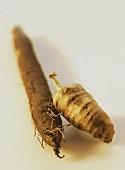 Scorzonera and chervil root