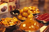 Assorted sweets (Old Delhi, India)