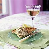 Sardine spread on toast