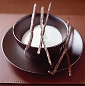 Sugar with vanilla pods