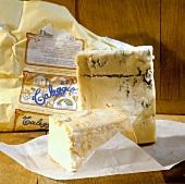 Gorgonzola and Taleggio