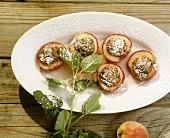 Pesche ripiene (Stuffed peaches), Sicily, Italy
