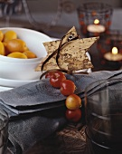 Christmas place-setting (Scandinavian style)