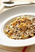 Muesli with cornflakes and nuts