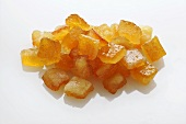 Diced candied peel (bitter orange)