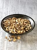 Cardamon pods in bowl