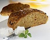 Tomato bread with feta