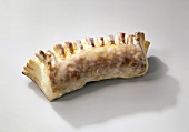Puff pastry with nut filling
