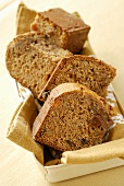 Spiced cake with dried fruit