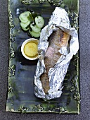Charr cooked in foil