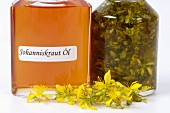 St. John's wort oil with ingredients