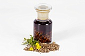 Tormentil tincture with ingredients
