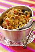 Fish and vegetable curry (India)