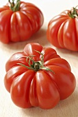 Three beefsteak tomatoes