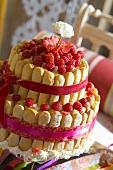 Raspberry charlotte for a special occasion