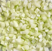 Diced onion (full-frame)