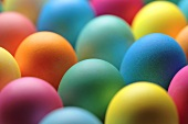 coloured Easter eggs (full-frame)
