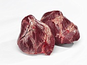 Two veal hearts