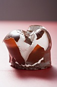 Chocolate teacake, crushed