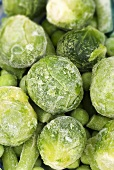 Frozen vegetables (Brussels sprouts, peas, green beans)