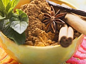 Spices for desserts (cinnamon, star anise etc.)