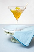 Muscadel Slushy (white wine with tequila and crushed ice)
